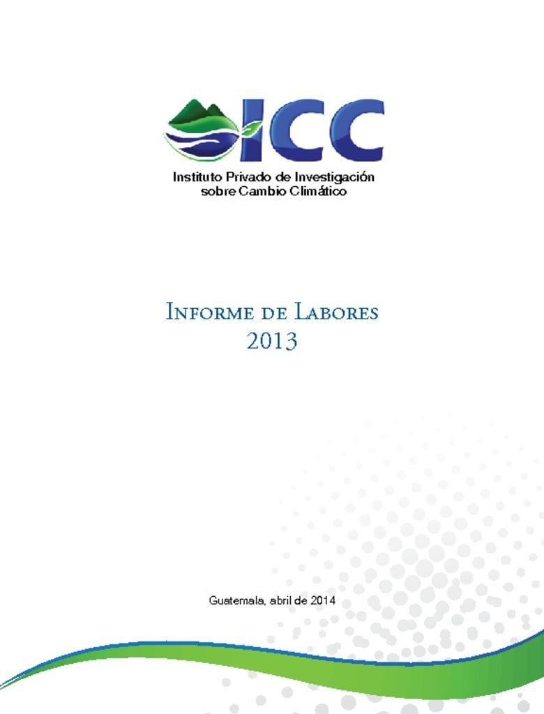 thumbnail of informe de labores 2013