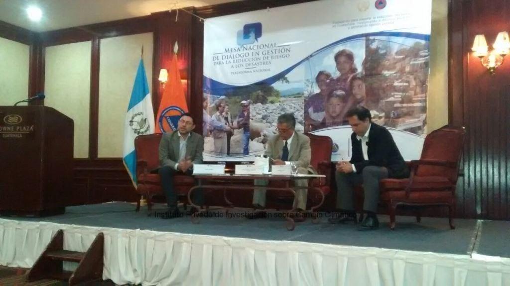 ICC participa en conversatorio de resiliencia