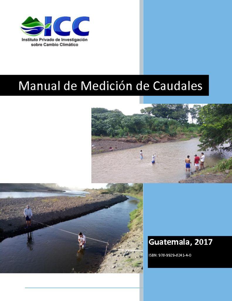 thumbnail of Manual-de-medición-de-caudales-ICC.-ISBN