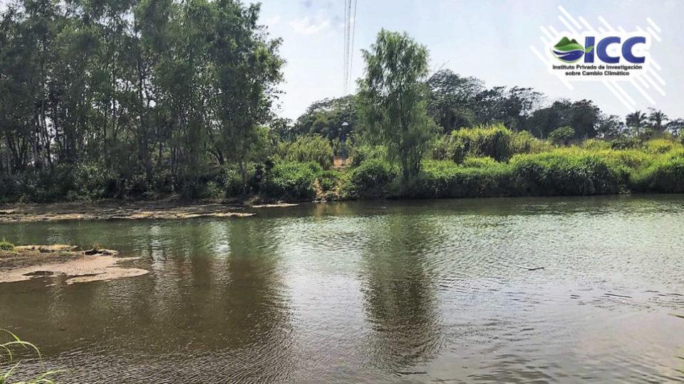 rio Ocosito y sensor