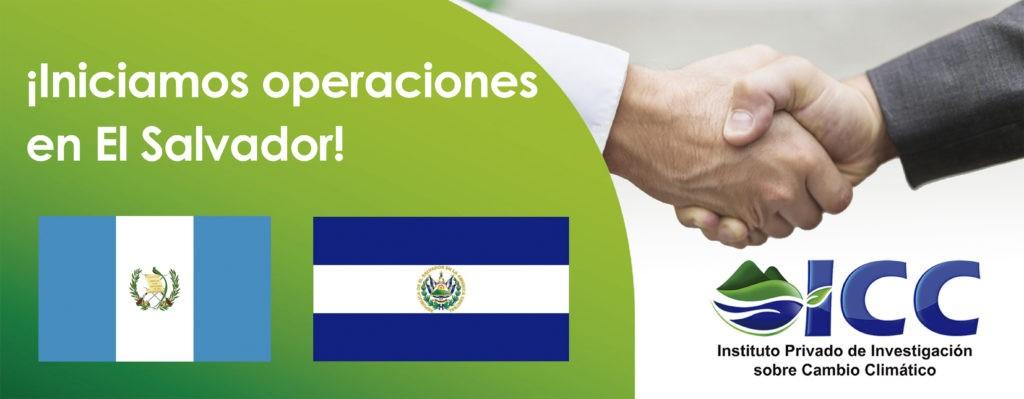 Iniciamos operaciones en El Salvador