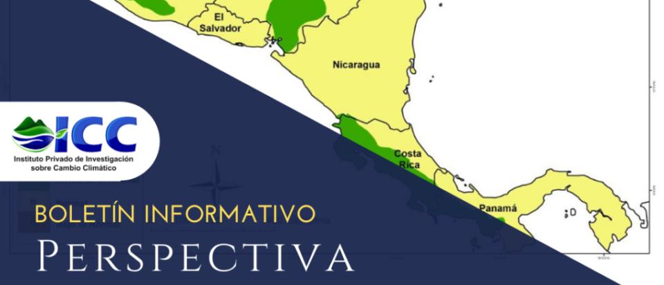 Mapa Centroamérica Perspectiva Climática