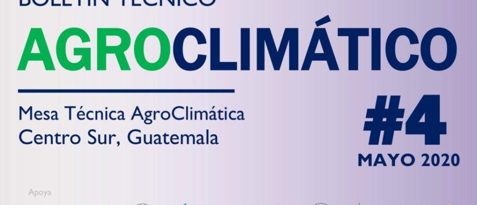 Portada Boletín Agroclimatico mayo, 2020